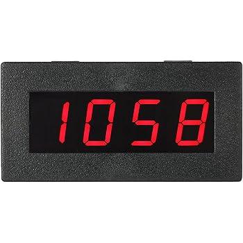 M DC 8-15V KKmoon High Precision 0.56 4 Frequenza LED Digital Contagiri Auto di Velocit/à del Motore Contagiri Misurazione del Tester 5-9999R