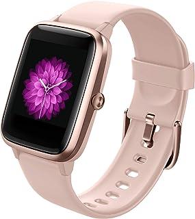 comprar comparacion GRDE Smartwatch, Reloj Inteligente Impermeable IP68 con Monitor de Sueño Pulsómetro Podómetro Caloría GPS para Deporte, Sm...
