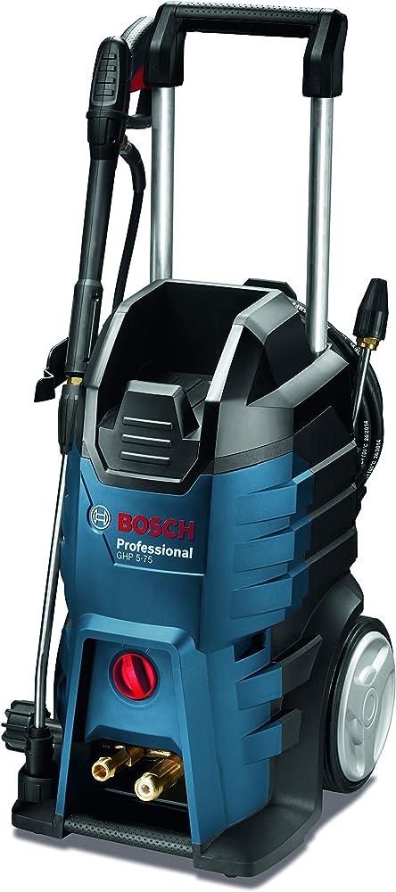 Bosch Professional GHP 5-75 - Hidrolimpiadora de alta presión (185 Bares, 570 l/h, 2 lanzas)