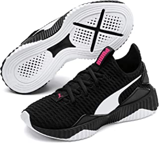 PUMA Kids DEFY PS Sneaker, Black White