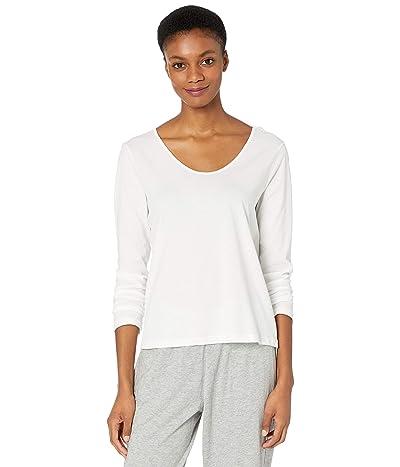 Skin Organic Cotton Caileigh Long Sleeve (White) Women