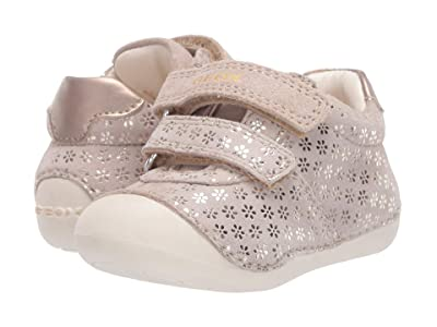 Geox Kids Tutim 36 (Infant/Toddler) (Medium Beige) Girl