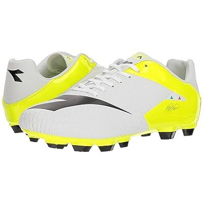 Diadora MW-Tech RB R LPU (White/Black/Fluo Yellow) Men