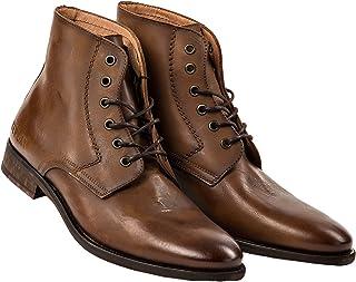 3447d298168e0c Replay Chaussures en Cuir pour Hommes, Hommes Bottines Craig Taille 41-46 -  Brown