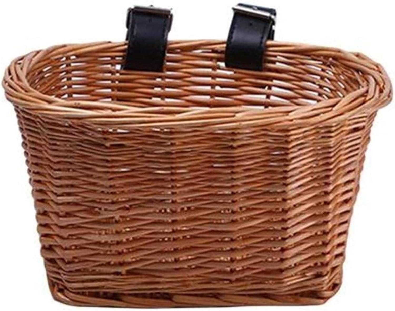 BW-King San Antonio Mall Pannier Fashion Bag for Basket Bicycles Bicycle Wicker