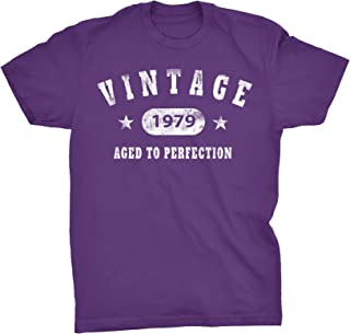 40th Birthday Gift T-Shirt - Vintage 1979 Aged to Perfection