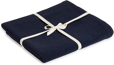 Estudio de Yoga Algodón orgánico Yoga Manta, Azul Marino ...