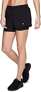 RBX Active Women's Athletic Running Workout Shorts