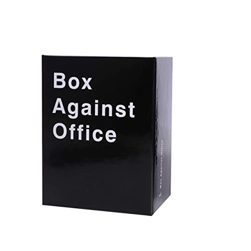 Box Against The Office Games with 352 Cards - Party Game