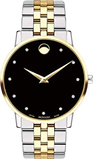 Museum, Stainless Steel Yellow Pvd Case, Black Dial, Stainless Steel Bracelet, Men, 0607202