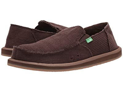 Sanuk Hemp (Dark Brown) Men
