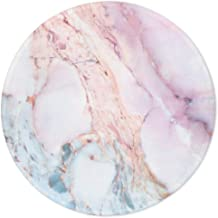 ITNRSIIET Marble Round Mouse Pad, Pink Marble Customized Premium-Textured Mouse Mat,Washable Mousepads with Lycra Cloth, N...