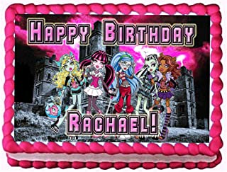 monster high sheet cake