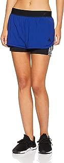 adidas Women's CZ7942 2 in 1 3-Stripes Short
