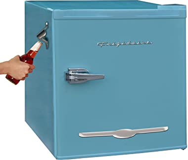 Igloo 1.6 cu ft Retro Compact Refrigerator with Side Bottle Opener - Blue