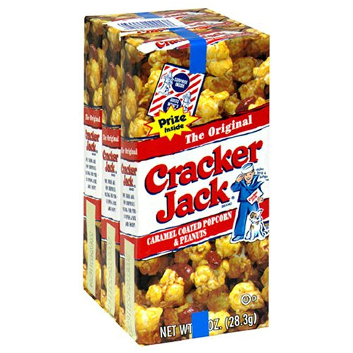 Original Cracker Jack, 3 pack