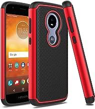 Venoro Moto E5 Play Case, Moto E5 Cruise Case, Slim Hybrid Dual Layer Armor Anti Scratch Shockproof Rugged Phone Protection Case Cover for Motorola Moto E5 Play/Moto E5 Cruise (Red/Black)