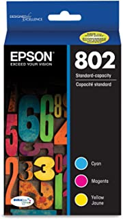 Epson T802520 DURABrite Ultra Color Combo Pack Standard Capacity Cartridge Ink