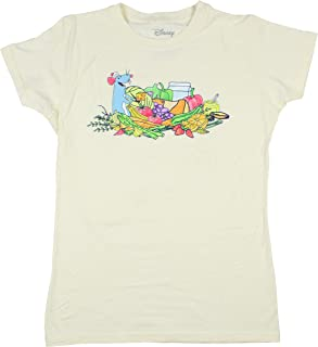 Disney Ratatouille Womens' Remy and Vegetables Girls T-Shirt