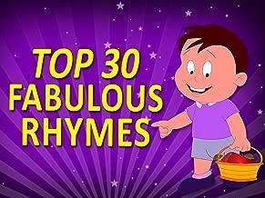 Top 30 Fabulous Rhymes