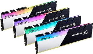 G.SKILL Trident Z Neo (AMD Ryzen) シリーズ 32GB (4 x 8GB) 288ピン RGB DDR4 SDRAM DDR4 3600 デスクトップ F4-3600C16Q-32GTZNC