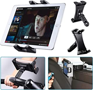 Tablet iPad Holder Stand, Tendak Portable Bike Bicycle Phone Car Headrest Mount for Indoor Gym Treadmill, Spinning, Exerci...