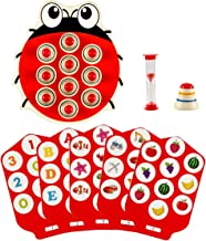 Memory Matching Puzzle Card Board Game for Toddler Kids Improve Focus and Concentration, Educational Ladybug Toy for Preschool Age 3 and Up