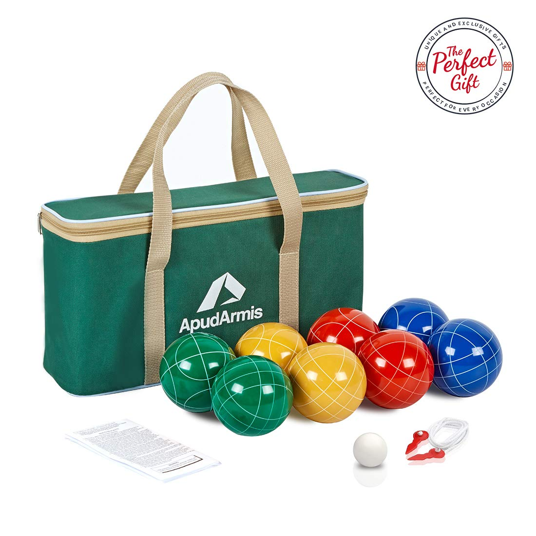 ApudArmis Bocce Outdoor Family Backyard