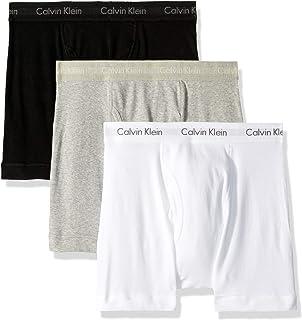 CALVIN KLEIN Men's Underwear 3 Pack Cotton Classics Boxer Briefs