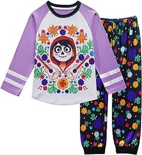 PCLOUD Coco Unisex-Baby 3-8 Top & Bottoms Pajama Set