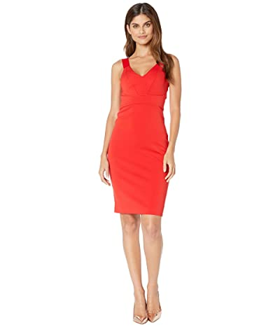 Ted Baker Trixxie Paneled Bodycon Dress (Red) Women