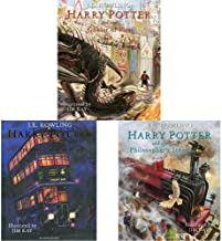 Harry Potter & The Goblet Of Fire: Illustrated Edition + Harry Potter & The Prisoner Of Azkaban: Illustrated Edition + Har...