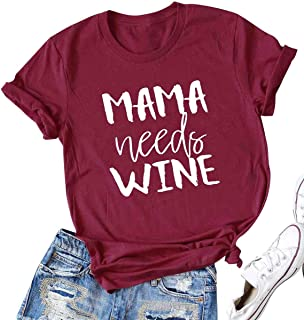 Best mom wine shirts Reviews