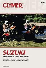 84-87 SUZUKI LT185: Clymer Service Manual