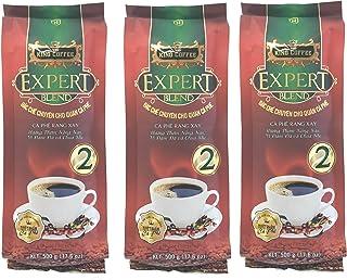 KING COFFEE ベトナムコーヒー エキスパートブレンド 2 (アラビカ豆30%使用のフレーバーコーヒー) 500g (3袋セット)