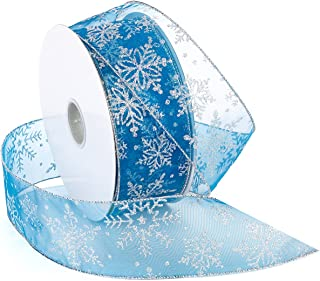 Best teal blue christmas ribbon Reviews