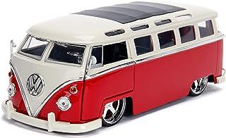 Jada Toys 1:24 BTK - '62 VW Bus Red diecast car