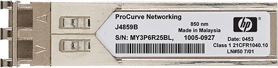 HPE Networking BTO J4859C X121 1G SFP LC LX Transceiver