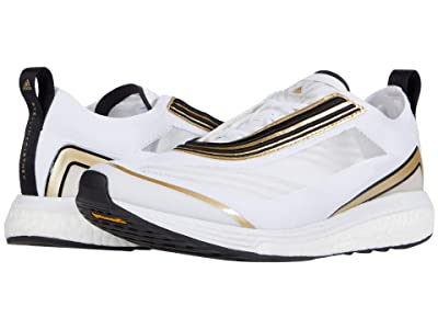 adidas by Stella McCartney Boston S. Marathon Sneaker (Footwear White/Gold Butter/Footwear White) Women