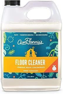 Aunt Fannie's Floor Cleaner Vinegar Wash (32 ounce jug); natural multi-surface floor cleaner (Sweet Mandarin)