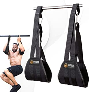 DMoose Fitness Hanging Ab Straps for Abdominal Muscle...