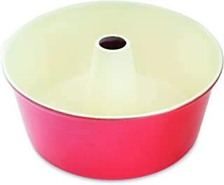 Nordic Ware 12-Cup Angel Food Cake Pan Baking Supplies, 10 x 10 x 4.2 inches, Assorted