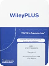 Accounting Principles, 12th Edition WileyPlus Access Code
