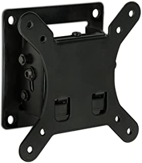 Mount-It! Tilt TV Wall Mount Bracket   Low-Profile TV Wall Mounting Bracket for Mid-sized Flat Screen Displays   Quick-Rel...