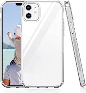 Suhctup Funda Compatible con iPhone 12 Pro,Transparente Carcasa con Dibujos Animados TPU Silicona Protectora de Golpes Anti Choques Slim Case Cover Bumper para iPhone 12 Pro (Transparente)