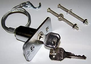 Building & Hardware Garage Door Opener Keyed Release Disconnect Key Lock - 1702LM/7702CB-00953702000