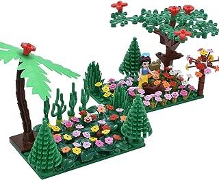 Sawaruita Classic Building Bricks Supplement, Princess Flowers Magical Plant BlocksGardenKids Educational Toys Compatible with All Major Brands Kids Games