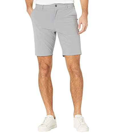 Faherty Belt Loop All Day Shorts (Ice Grey) Men