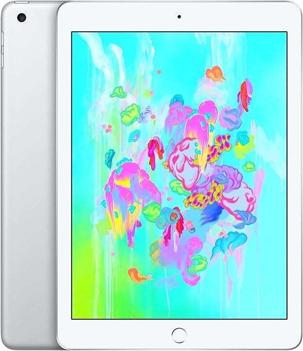 Ipad apple (6a generazione) 32 gb wi-fi - argento (ricondizionato)