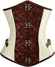 brocade steampunk corset